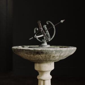 antique sundial Profatius Armillary