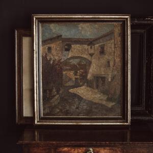 Hanns Diehl Oil Painting