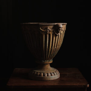 cast iron garden urn planter
