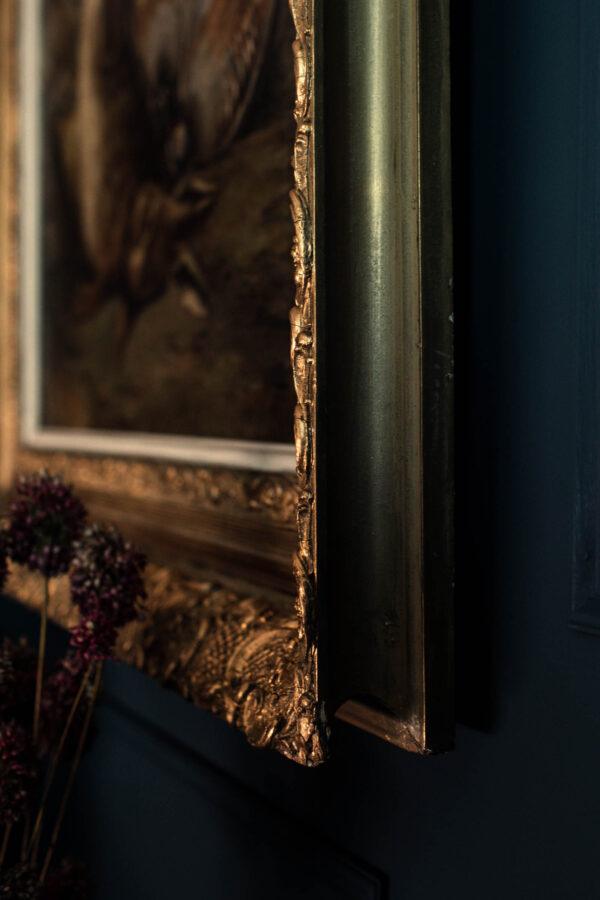 gilt frames oil painting